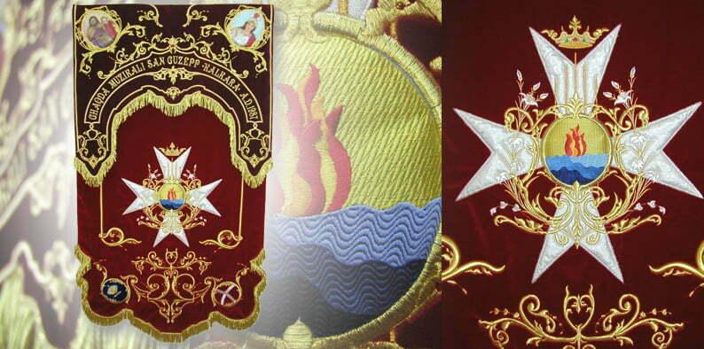 stendardo croce di Malta