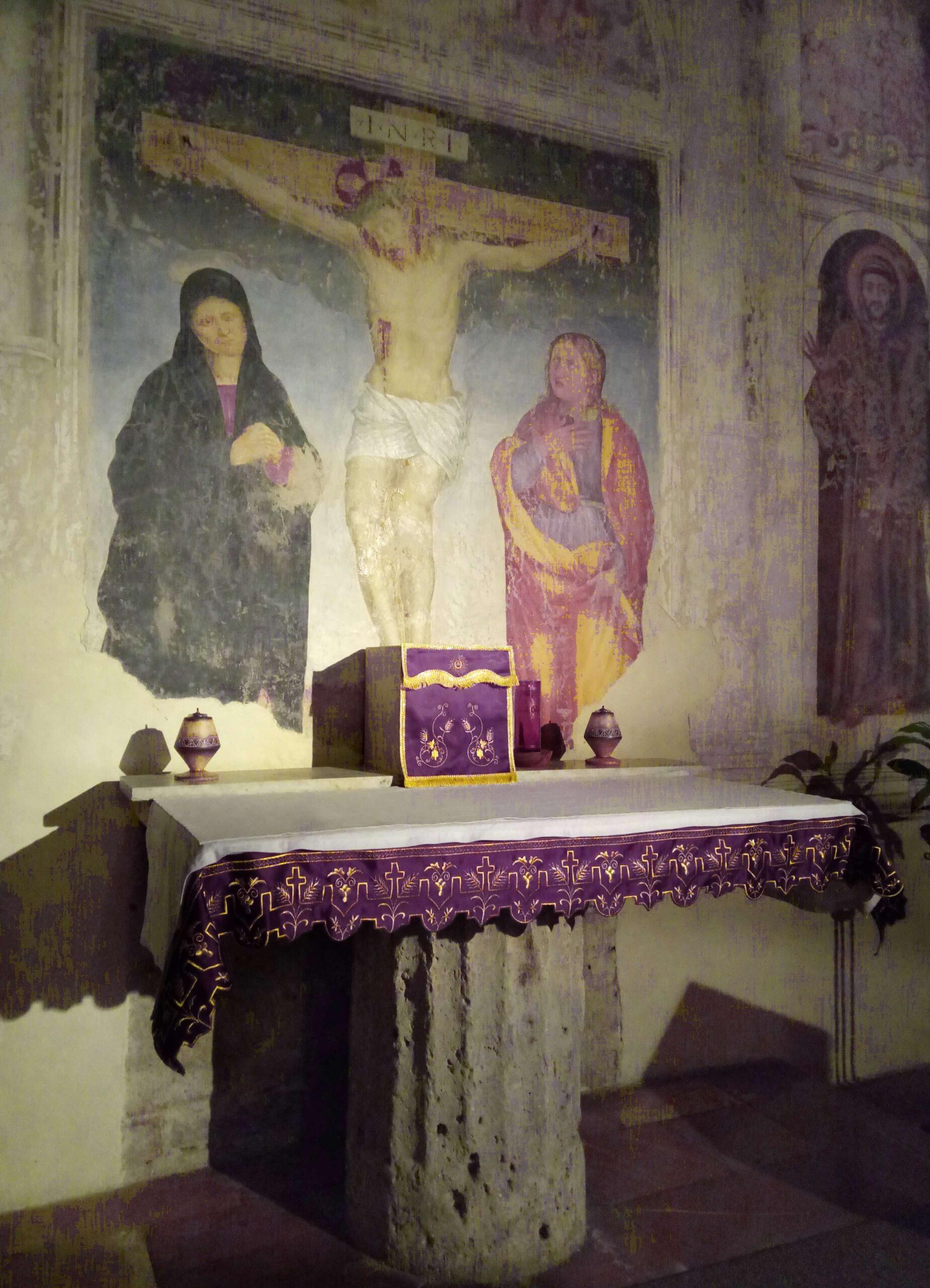 Altare Santuario Spogliazione